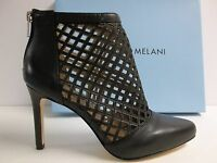 Antonio Melani Size 9 M Mena Black Leather Pumps Heels Womens Shoes