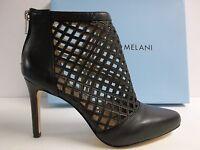 Antonio Melani Size 7.5 M Mena Black Leather Pumps Heels Womens Shoes