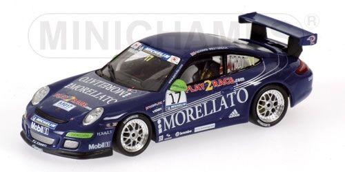 PORSCHE 911 gt3 R. WESTBROOK Supercoppa PORSCHE 2006 1 43 MODEL MINICHAMPS