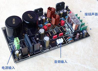 DIY kit Upgrated LM3886+ OP275 amplifier Speaker protection 68Wx2 Gain