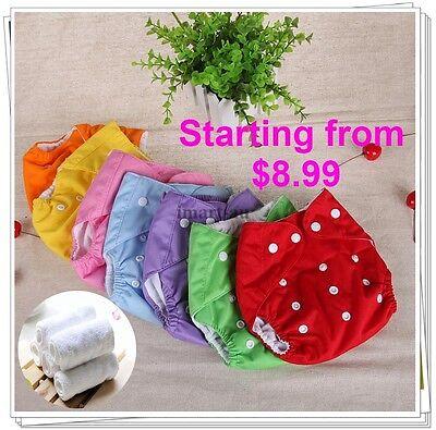 Bulk Reusable modern Baby Cloth Nappies Diapers Adjustable bulk newborn nappy