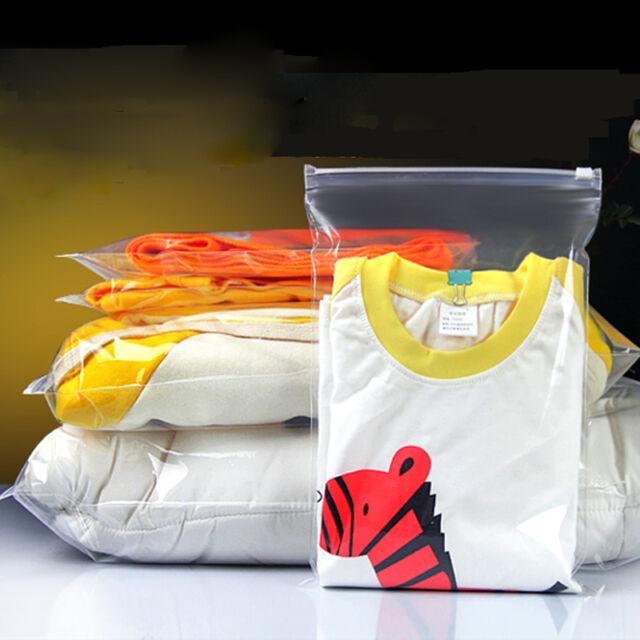 Thick Transparent Clothing zipper bag /Reclosable / ZIP LOCK /Various/FOOD GRADE