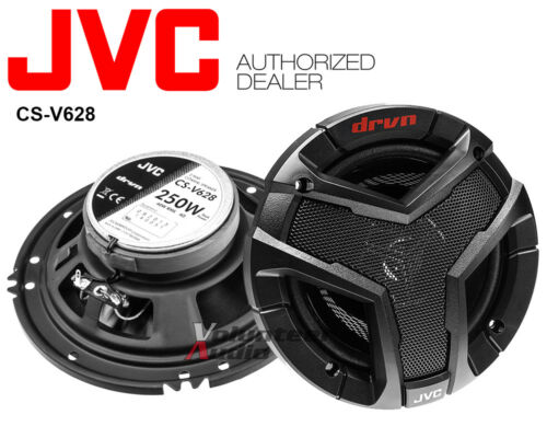 Front Rear Speaker Adapters 2 Pair JVC CS-V628 6.5 Speakers