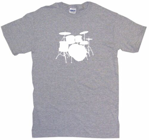 Drum Set Logo Drumset Kids Tee Shirt Pick Size /& Color 2T XL