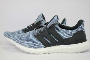 8ff3a21a3 Image is loading ADIDAS-ULTRA-BOOST-PARLEY-WHITE-CARBON-BLUE-SPIRIT-