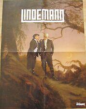 LINDEMANN  __  SKILLS IN PILLS  __  1 Poster  __  44 cm x 58 cm __ [ RAMMSTEIN ]