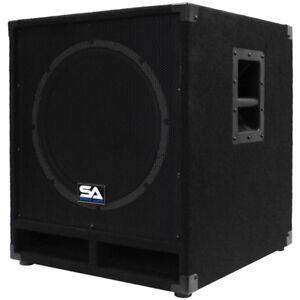 Seismic-Audio-Powered-15-034-Subwoofer-Cabinet-PA-DJ-PRO-Band-Speaker-Active-Sub