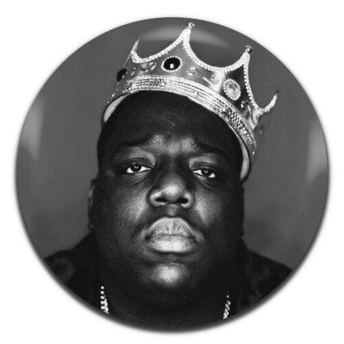 Biggy Smalls Notorious BIG Hip Hop Rap 25mm 1 Inch D Pin Button Badge