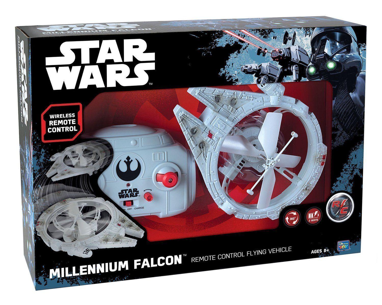 STAR WARS MILLENNIUM FALCON FALCON FALCON REMOTE CONTROL FLYING VEHICLE BRAND NEW UK SELLER f9e14f