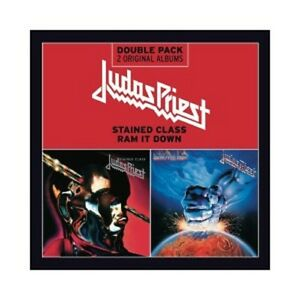 Judas-Priest-Stained-Class-RAM-IT-DOWN-2-CD-hard-039-n-039-heavy-Heavy-Metal-Nuovo