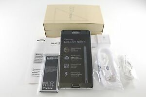 New-Samsung-Galaxy-Note-4-SM-N910A-Black-32GB-16MP-AT-amp-T-Unlocked-GSM
