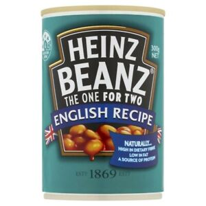 Heinz Natural Dietary Fibre Protein Source Baked Beans English Recipe 300g