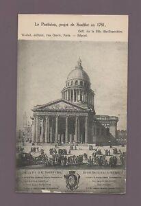 Paris - Der Pantheon, Projekt Soufflot IN 1781 (H1699)