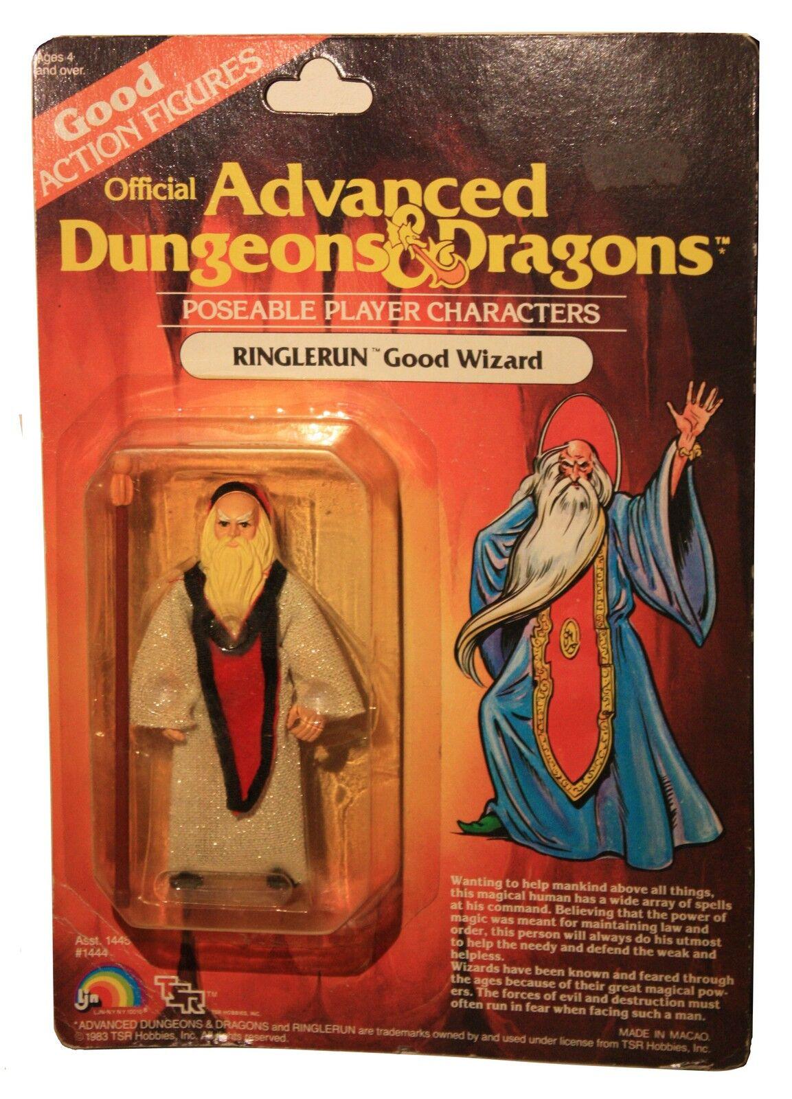 Avancerade Dungeons och drakes -AD &D -RINGLERUN -bra Wizard -Spielerfigur -OVP -Neu
