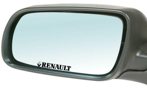 4x Renault Mirror Car Window Bumper 4x4 JDM EURO VW DUB Vinyl Decal Sticker