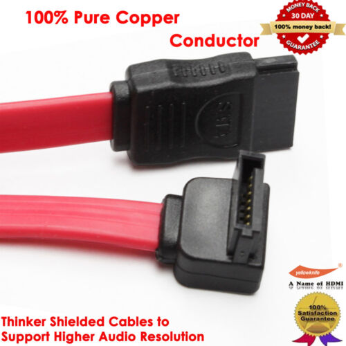 SATA Series Cables Straight Angle Right Angle with Locking Latch Right Angle