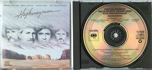 HIGHWAYMAN-Waylon-Jennings-Willie-Nelson-Johnny-Cash-Kris-Kristofferson-1985-CD