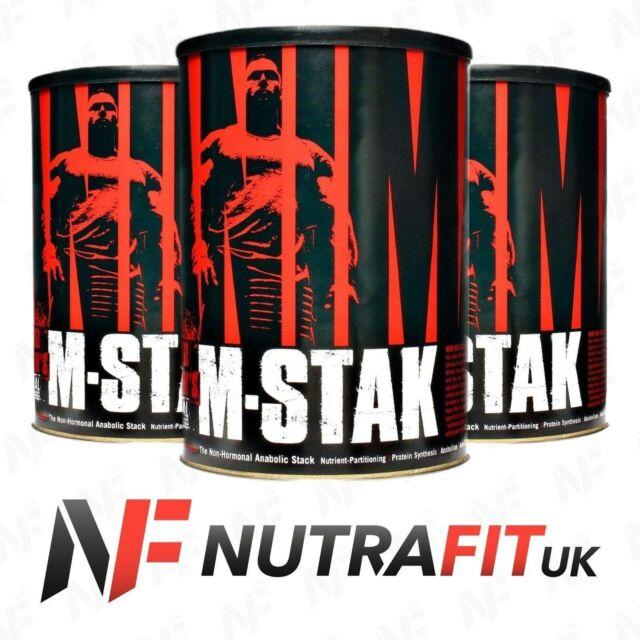 UNIVERSAL NUTRITION ANIMAL M-STAK 21 PACKS non hormonal anabolic stack