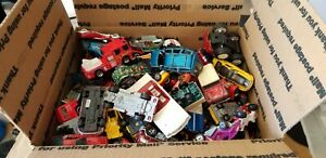 Lote-de-10-libras-Diecast-Hot-Wheels-Matchbox-Maisto-Disney-Cars-para-piezas