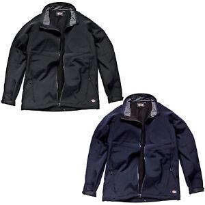 Dickies Softshell Jacket JW84950 Mens Waterproof Lightweight Durable Work Coat