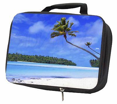 Ragionevole Paradiso Tropicale Spiaggia Isolata Nero Scatola Pranzo Scuola Borsa, W-6lbb-mostra Il Titolo Originale