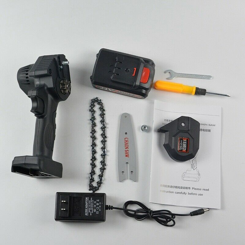 24V Portable One-Hand Woodworking Cordless Wood