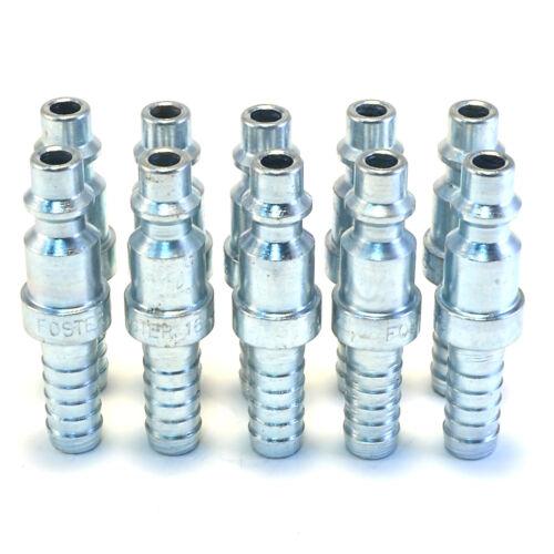"""10 5//16/"""" Hose Barb Stem Pneumatic Air Compressor Hose Quick Connect Fitting Plug"""