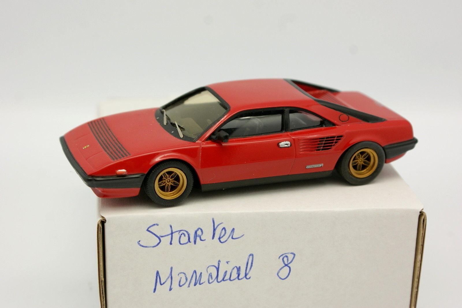 Starter Kit Mounted 1 43 - Ferrari Mondial 8 Red