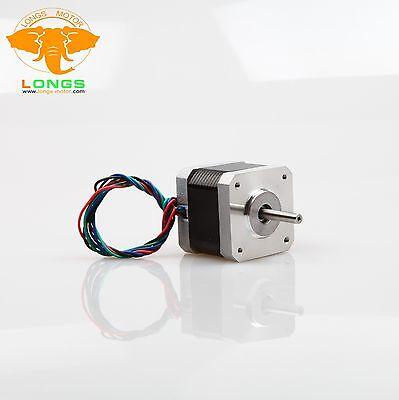 Hybrid stepper motor Nema17 0.9degree 4leads 1.7A  54oz-in Dispens 3D printer