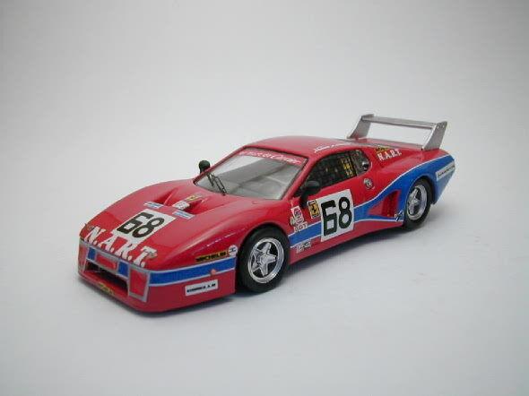 Ferrari 512 Bb  68 57th 24h Daytona 1979 Tullius   Bedard   Delaunay 1 43 Model