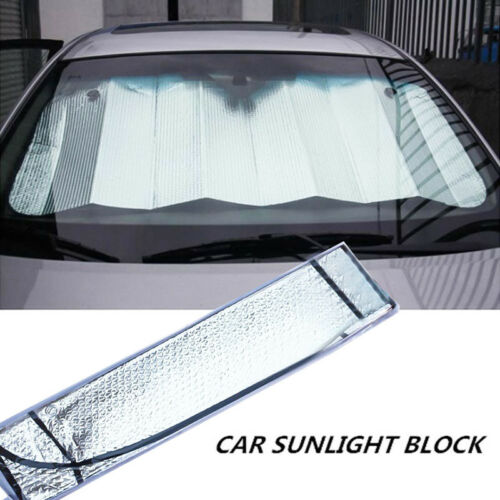 Large Reflective Sunshade Car Van Front Windscreen Sun Shade 55x27.5 UK Stock