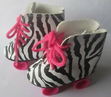 2017 New Leopard pulley Fashion Gift Shoes Fit 18inch American Girl Doll Party