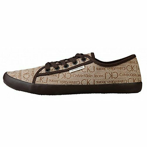 marrone Beige 45 Shoes Klein Scarpe Beige Uomo Jeans Logata Calvin brown Man wXqYqOFaSn