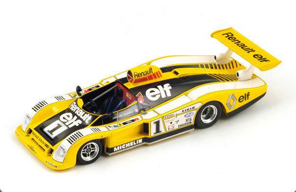 SPARK Renault Alpine A 443 No. 1 Le Mans 1978 Depailler - Jabouille S1552 1 43