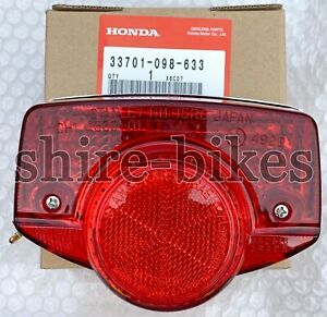 NEW-Genuine-Honda-6V-Rear-Light-Unit-for-Cub-C50-C70-amp-C90-UK-Round-Head-Light