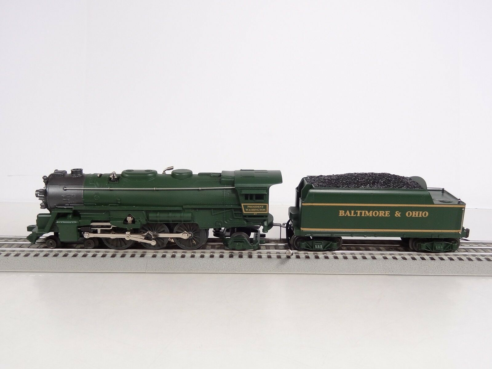 Lionel O Scale Baltimore and Ohio B&O 4-6-2 Washington Steam Engine 6-18636 Nuovo