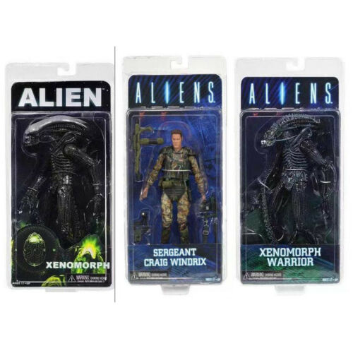 Alien Xenomorph Warrior Sergeant Craig Windrix PVC Action Figure Model Toy