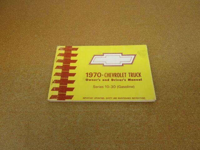 1970 Chevrolet Pickup Truck C  K Gas K10 K20 C10 Suburban