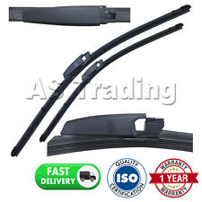 """FOR MERCEDES CLK CLASS W209 COUPE 2002-09 DIRECT FRONT AERO WIPER BLADES 22"""" 22"""""""