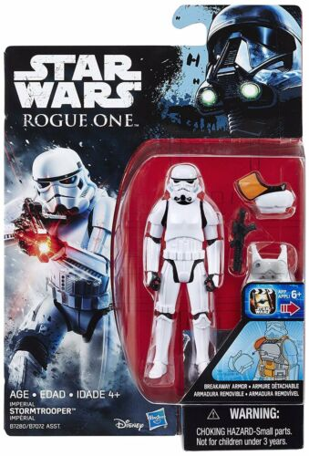 Star Wars environ 9.52 cm ACTION FIGURE NEW Rogue One IMPERIAL STORMTROOPER Hasbro 3.75 IN
