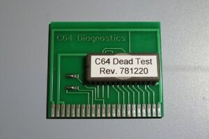 Dead-Test-cartridge-for-the-Commodore-64-Rev-781220-Repair-Diagnostics-NEW