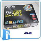 Placa base ATX ASUS M5A97 EVO R2.0 ddr3 Socket AM3 con Accesorios