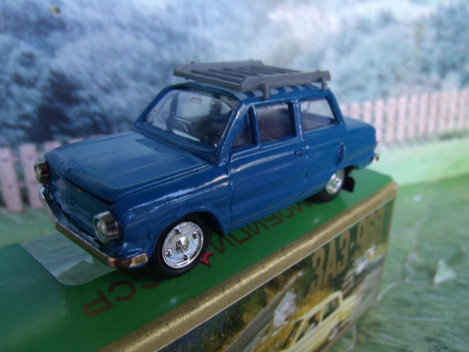 1 43 Russian  ZAZ 968 with trunk