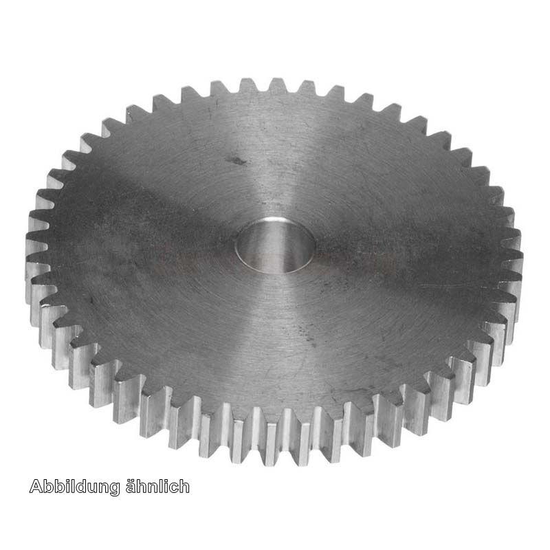 Stirnzahnrad aus Azetalharz Modul 1,25 gerade verzahnt Wählen Sie Zähnezahl
