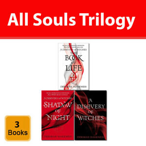 All Souls Trilogy collection Deborah Harkness 3 books set A Discovery of Witches 9789123735587