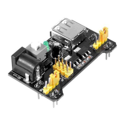 2x MB102 Breadboard Power Supply Module 3.3V 5V For Arduino Breadboard