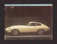 Jaguar F 1976 Car Auto Card from Spain