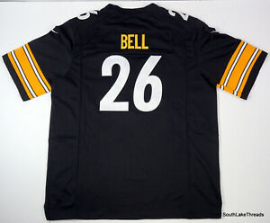 Details about Nike NFL Authentic Pittsburgh Steelers Leveon Bell Jersey Men's XL
