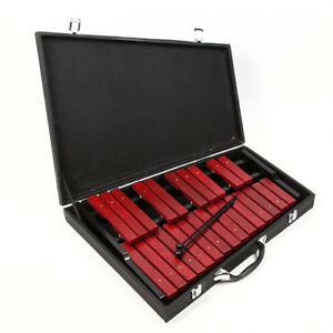 Xylophon, 2 Oktaven, 25 Palisander2 Stk. schlägeln und Koffer Palisander