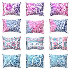 Am-KF-Mandala-Round-Flower-Pillow-Case-Cushion-Cover-Sofa-Bed-Car-Office-Decor